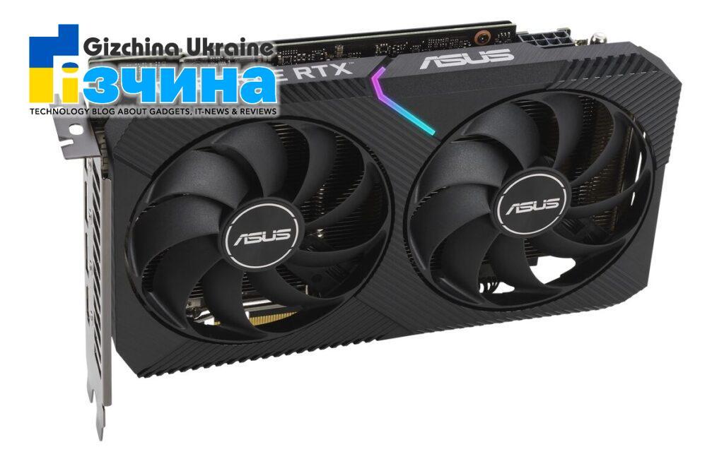 ASUS представляє відеокарти серії GeForce RTX 3060 Ti