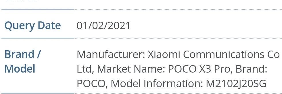 POCO X3 Pro отримав сертифікацію FCC - скоро запуск