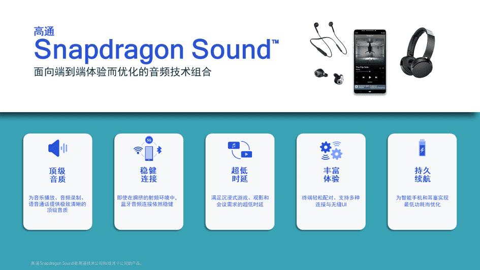 Технологія звуку Snapdragon, випущена Qualcomm: хороша якість звуку та низька затримка