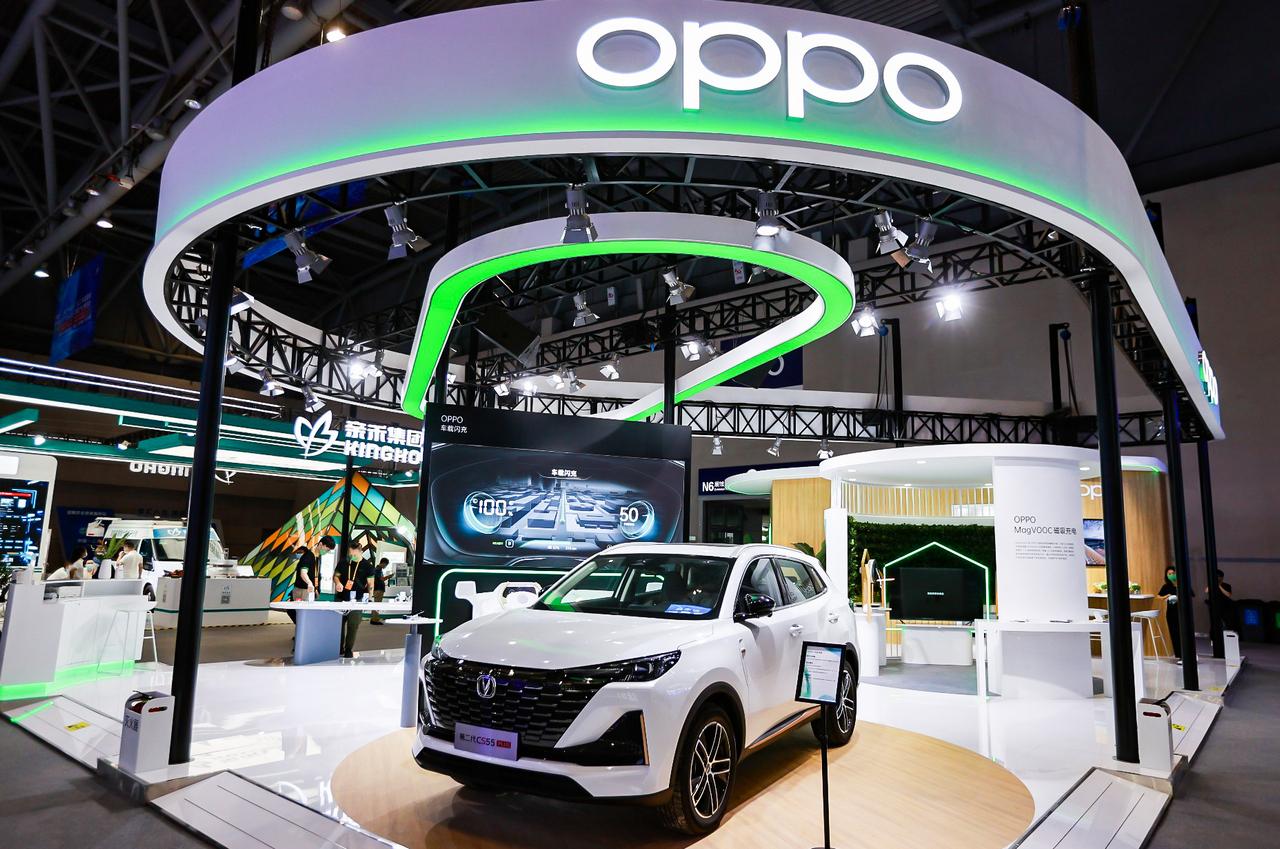 OPPO представляет новую MagVOOC серию и другие технологии на Smart China Expo 2021