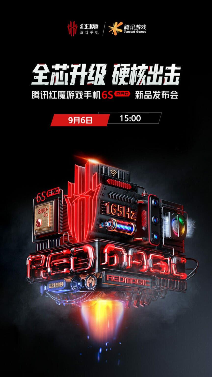 Игровой Nubia Red Magic 6S Pro: Дата запуска и характеристики